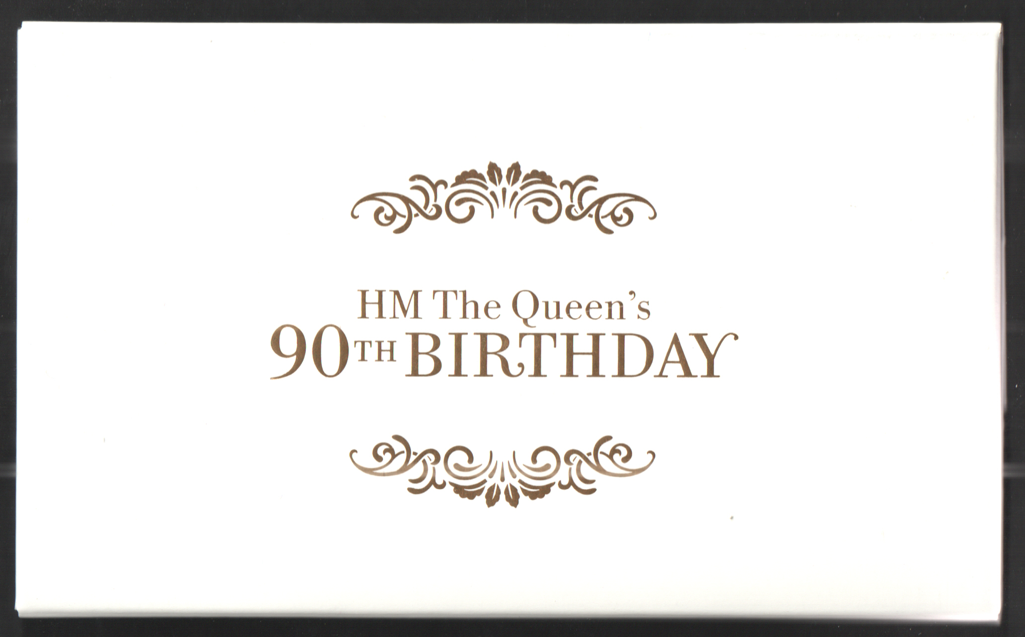 DY17 / DB5(69) Limited Edition 2016 HM the Queen's 90th Birthday Prestige Booklet