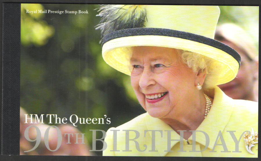 DY17 / DB5(69) 2016 HM the Queen's 90th Birthday Prestige Booklet