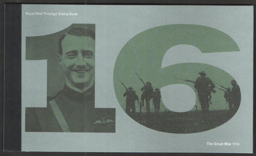 "DY18 / DB5(70) 2016 ""The Great War 1916"" Royal Mail Prestige Booklet"