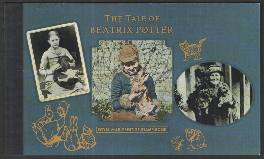 DY19 / DB5(71) 2016 Beatrix Potter Royal Mail Prestige Booklet