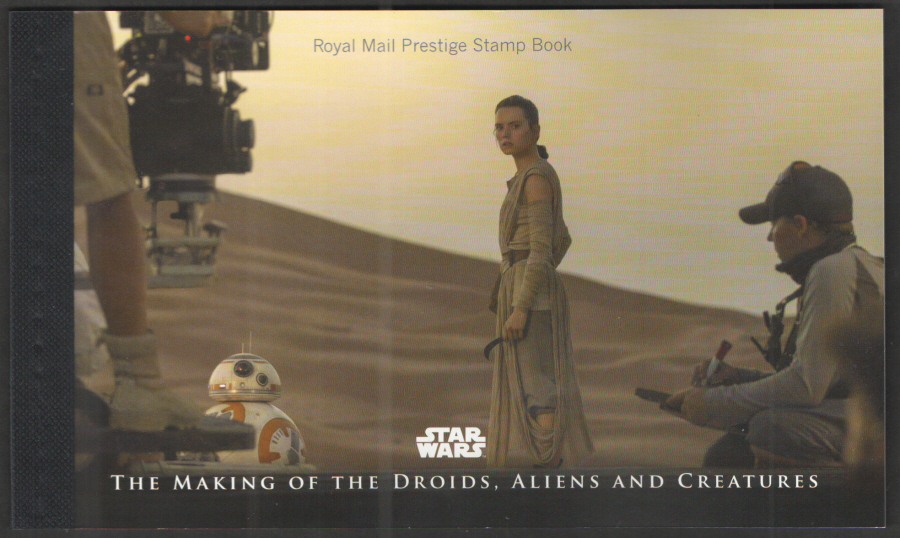 DY23 / DB5(75) 2017 Star Wars Royal Mail Prestige Booklet