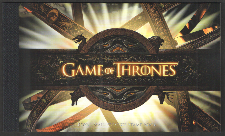DY24 / DB5(76) 2018 Game of Thrones Royal Mail Prestige Booklet