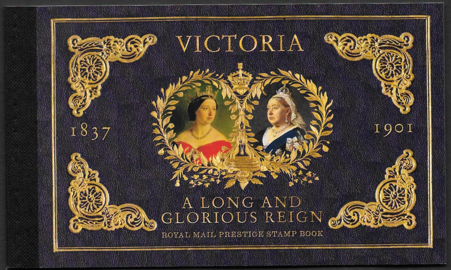 DY30 / DB5(82) 2019 Queen Victoria Bicentenary Royal Mail Prestige Booklet