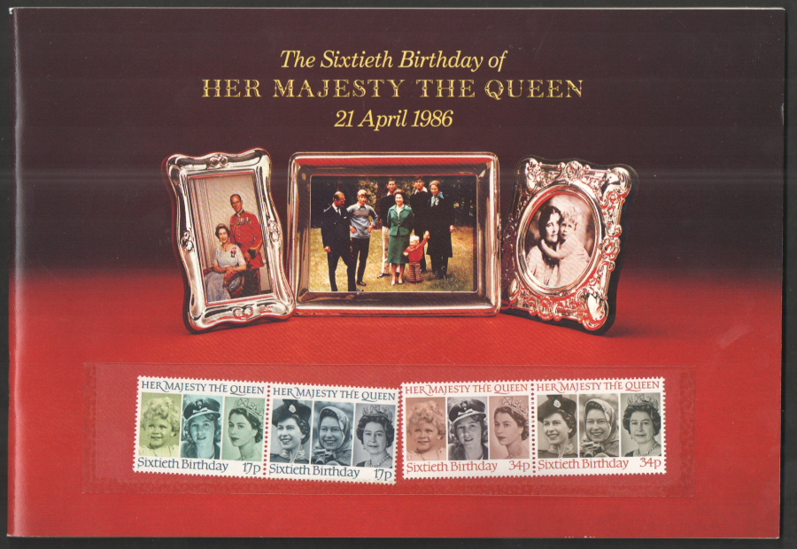 1986 HM the Queen's 60th Birthday Souvenir Book