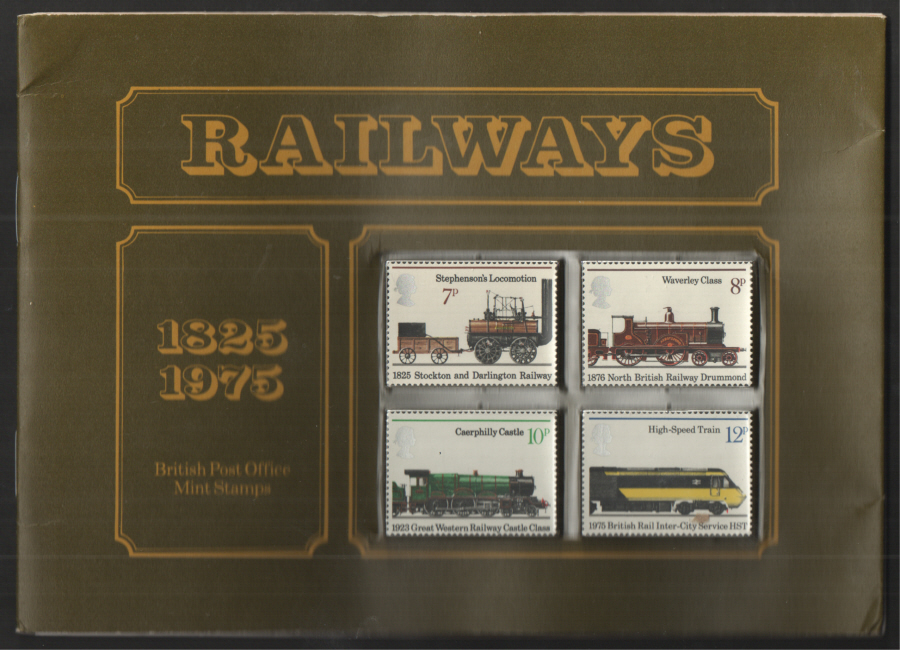1975 Railways Souvenir Book / Folder