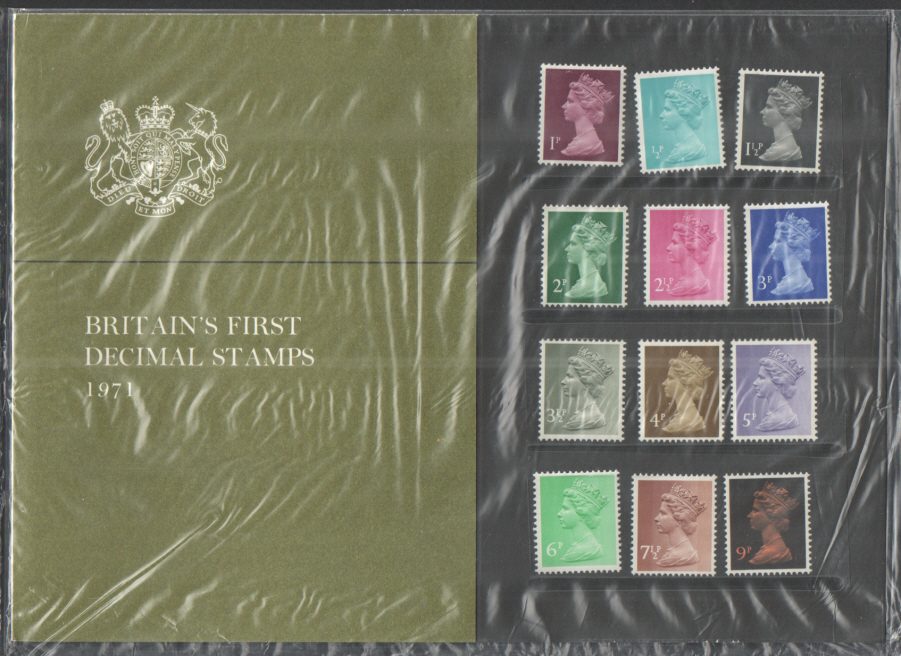 "1971 ""Scandinavia '71"" British Post Office Souvenir Presentation Pack"