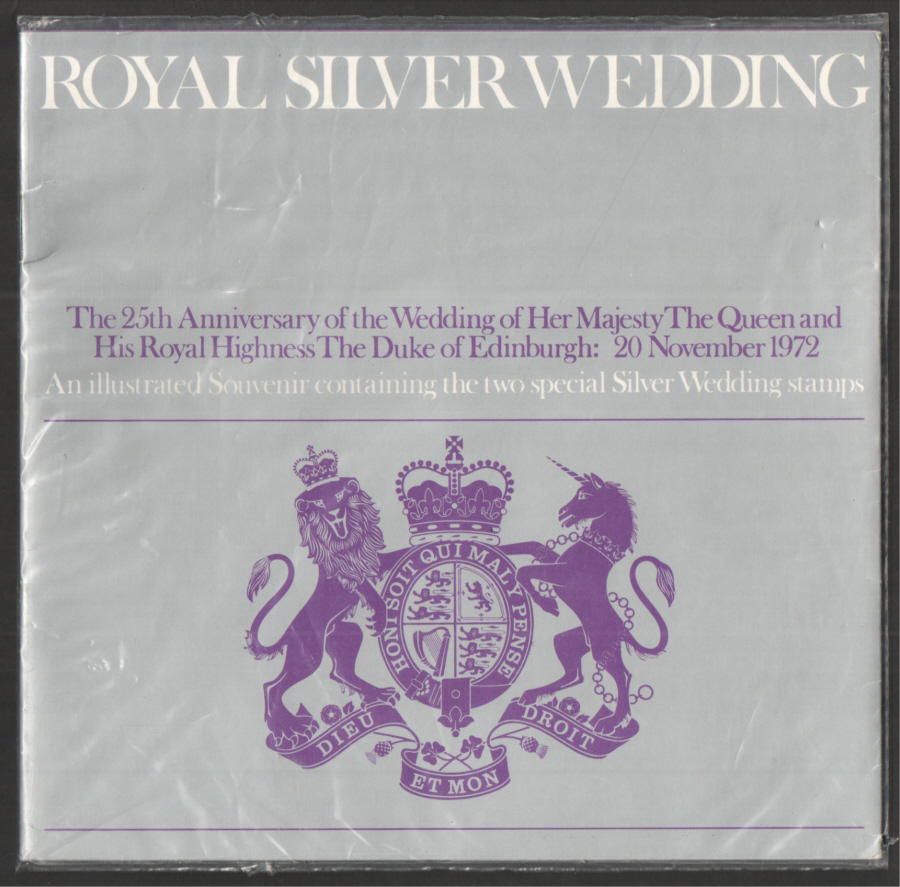 1972 Royal Silver Wedding Souvenir Book