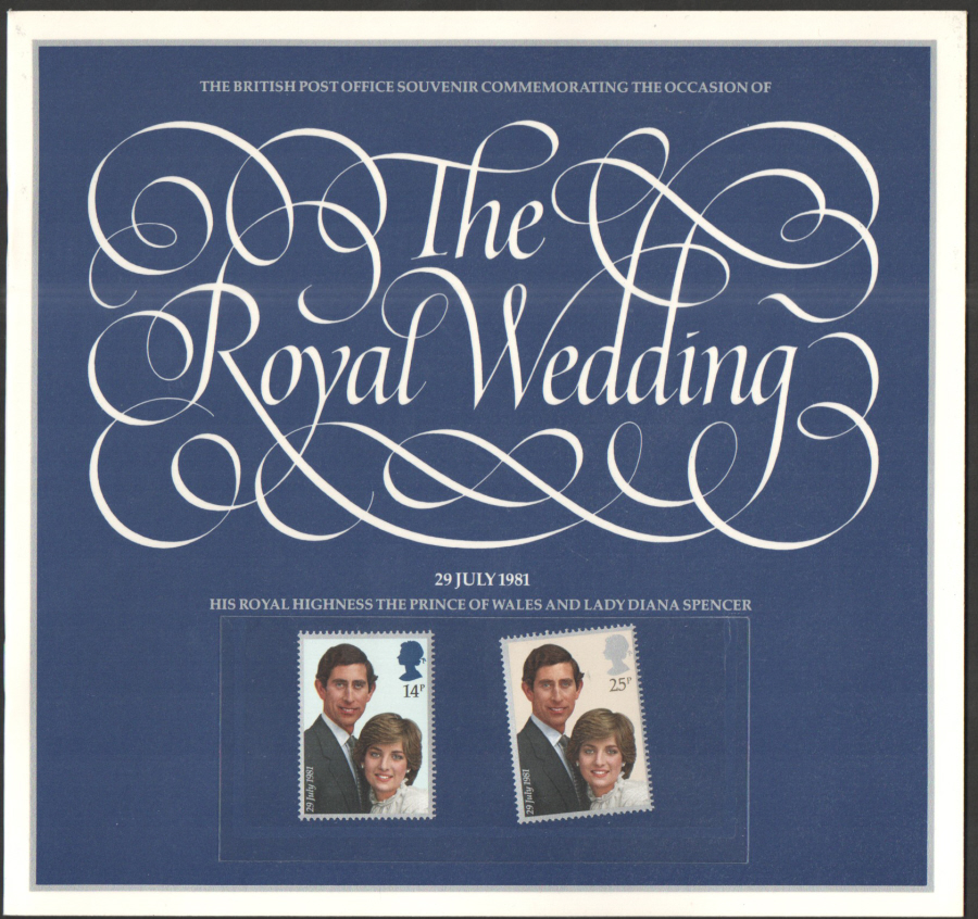 1981 Royal Wedding Souvenir Book / Folder