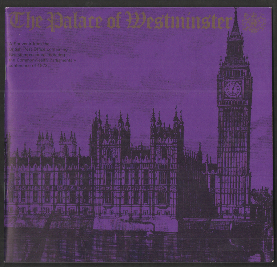 1973 Palace of Westminster Souvenir Book