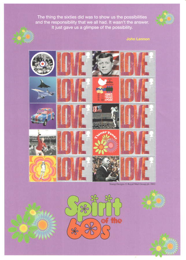 BC-102 2007 Spirit of the 60's Business Smilers Sheet