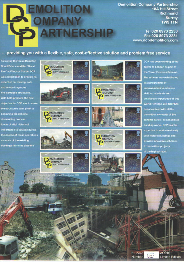 BC-212 2009 Demolition Company Partnership Business Smilers Sheet