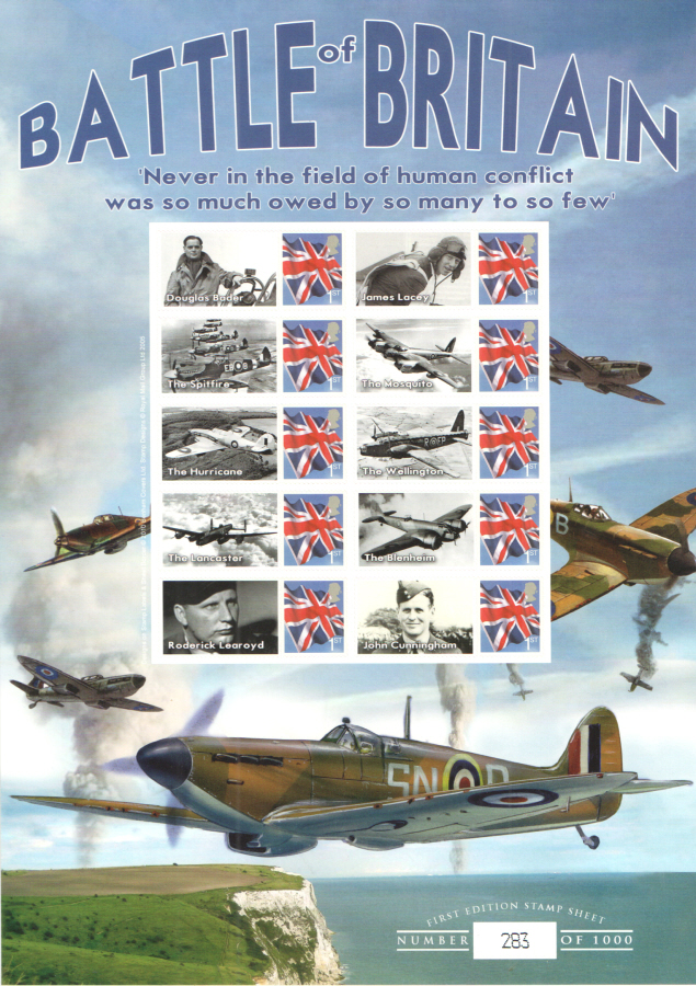 BC-301 2010 Battle of Britain Business Smilers Sheet