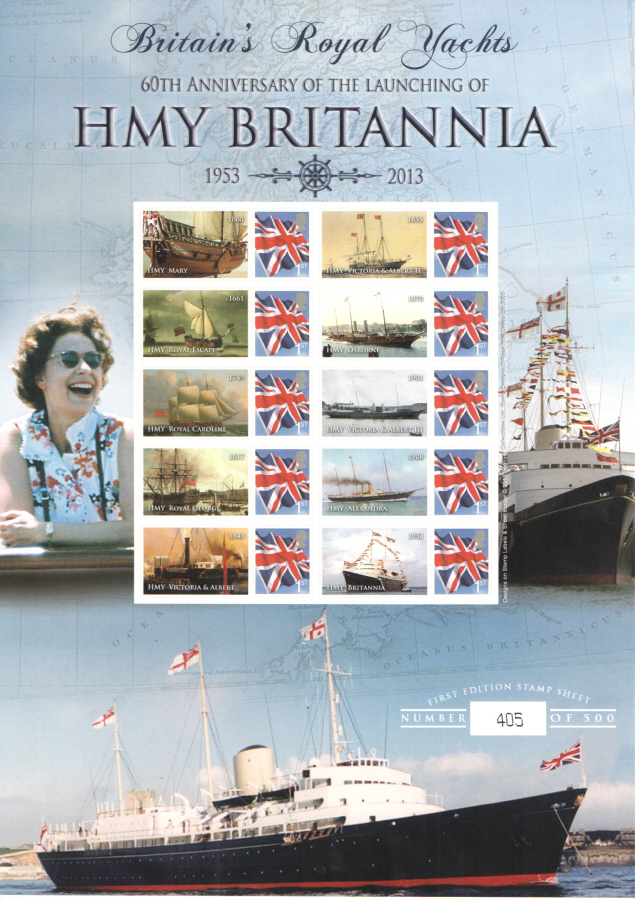 BC-402 2013 HMY Britannia Business Smilers Sheet