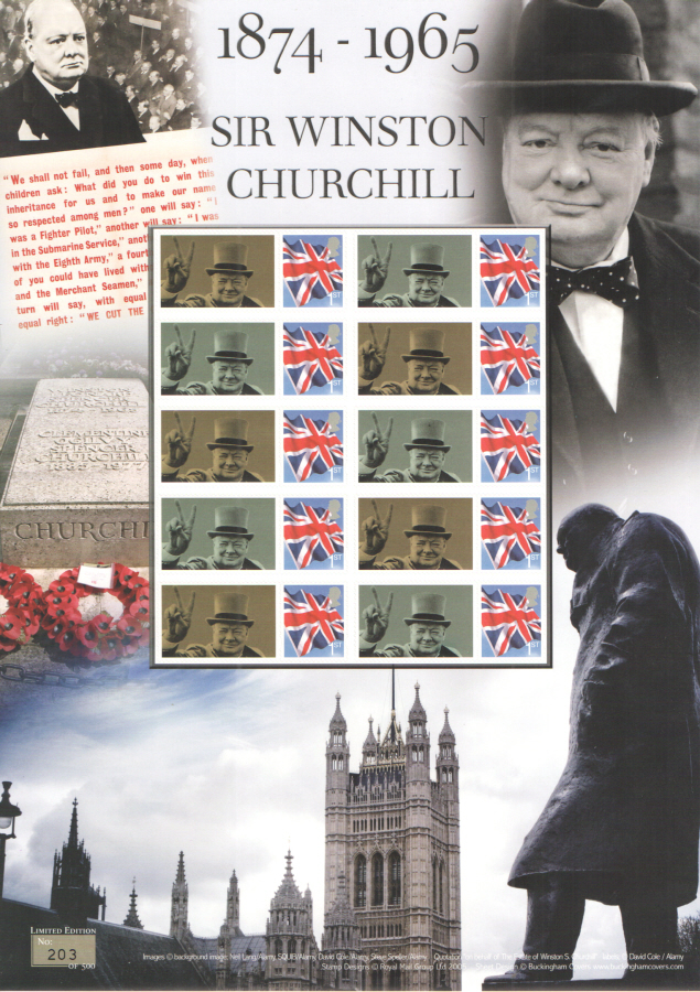 BC-465 2015 Sir Winston Churchill Business Smilers Sheet