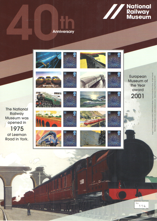 BC-484 2015 National Railway Museum Business Smilers Sheet