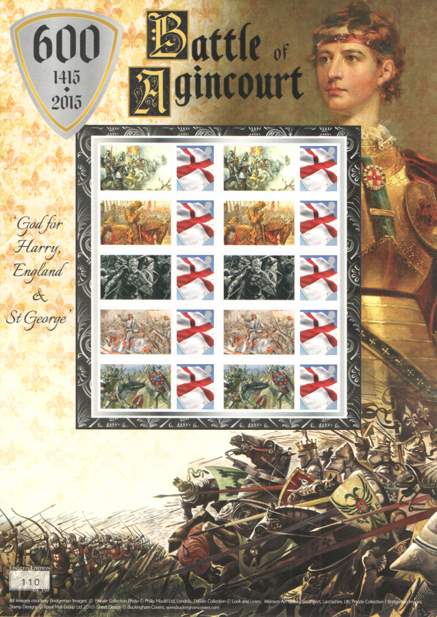 BC-485 2015 Battle of Agincourt Business Smilers Sheet