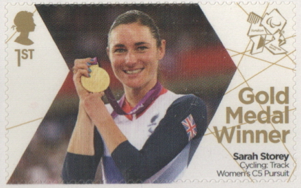 SG3372 Sarah Storey London 2012 Paralympic Gold Medal Winner stamp