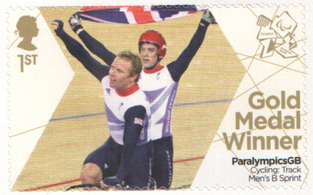 SG3383 Kappes & MacLean London 2012 Paralympic Gold Medal Winner stamp