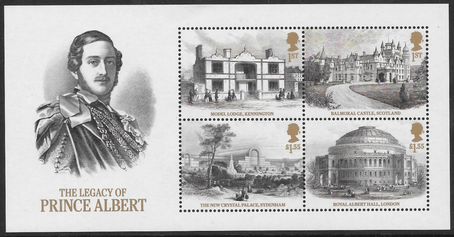 MS (TBC) 2019 Legacy of Prince Albert Non-Barcoded Miniature Sheet