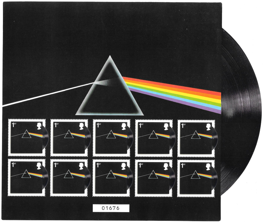 2016 Pink Floyd - Dark Side of the Moon Royal Mail Miniature Sheet