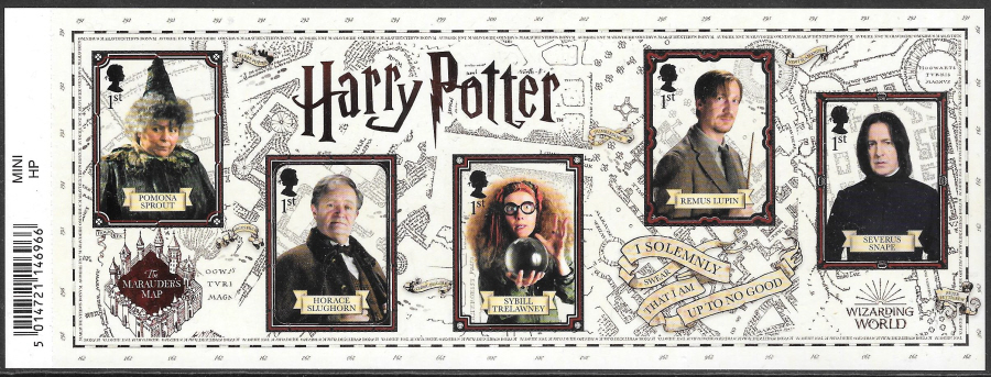 MS (TBC) 2018 Harry Potter Barcoded Miniature Sheet