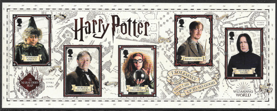 MS (TBC) 2018 Harry Potter Non-Barcoded Miniature Sheet