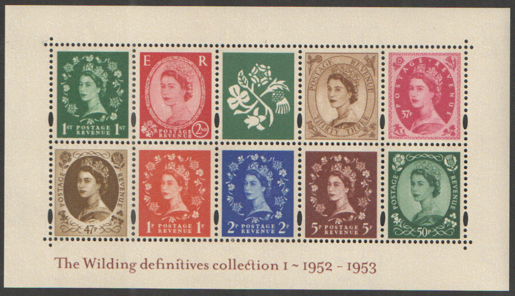 MS2326 2002 Wildings No. 1 Royal Mail Miniature Sheet