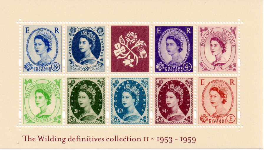 MS2367 2003 Wildings No. 2 Royal Mail Miniature Sheet