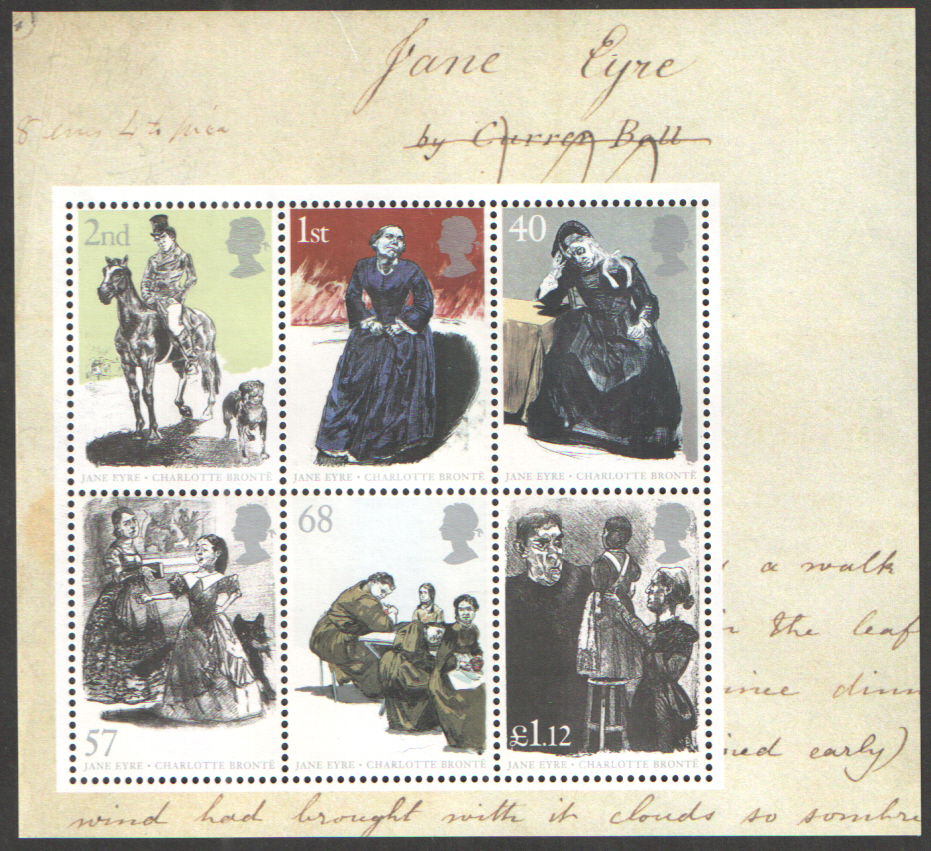 MS2524 2005 Jane Eyre Royal Mail Miniature Sheet