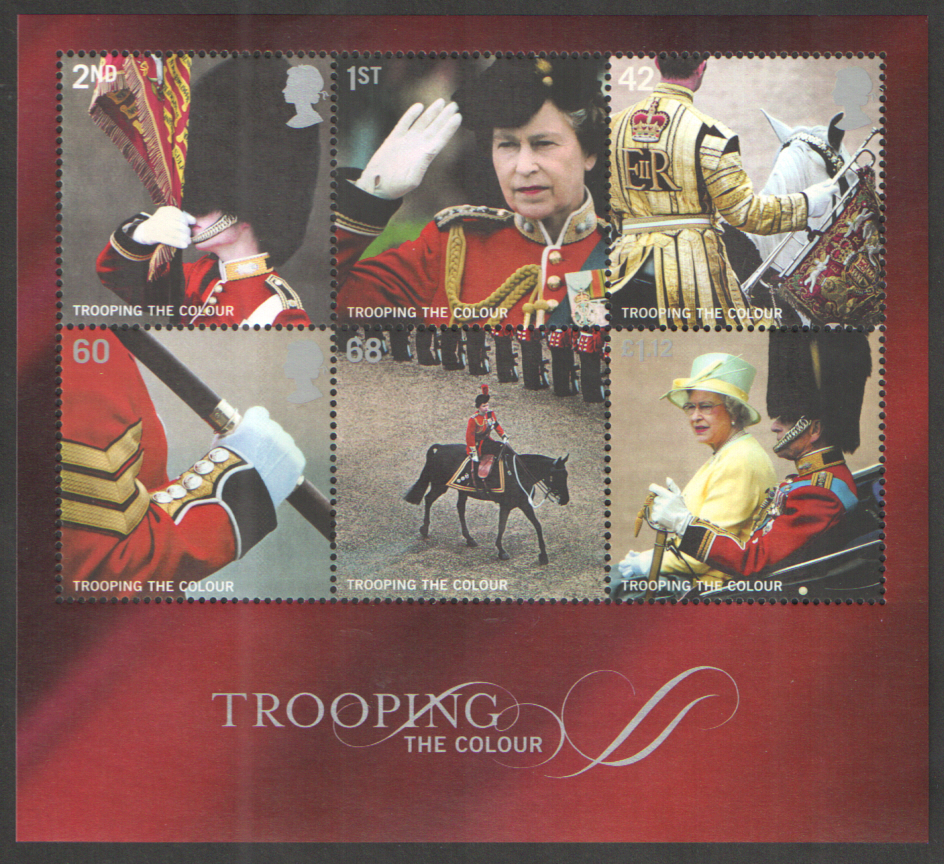 MS2546 2005 Trooping The Colour Royal Mail Miniature Sheet
