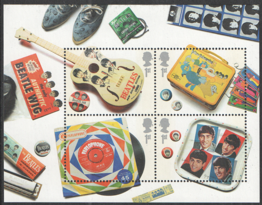 MS2692 2007 The Beatles Royal Mail Miniature Sheet