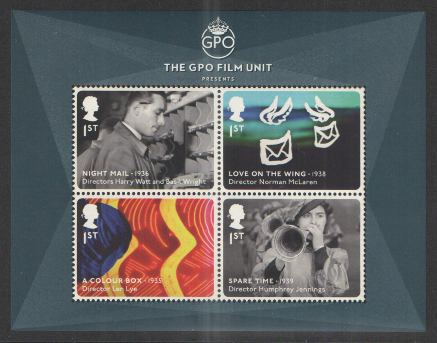 MS3608 2014 GPO Film Unit Non-Barcoded Royal Mail Miniature Sheet