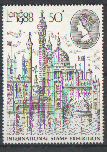 SG1118 1980 London '80 Type I unmounted mint