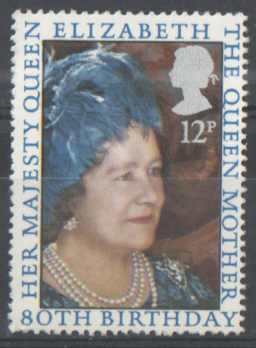 SG1129 1980 Queen Mother 80th Birthday unmounted mint