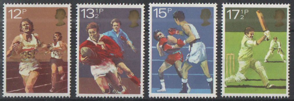 SG1134 / 37 1980 Sports unmounted mint set of 4