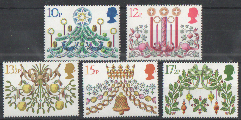 SG1138 / 42 1980 Christmas unmounted mint set of 5