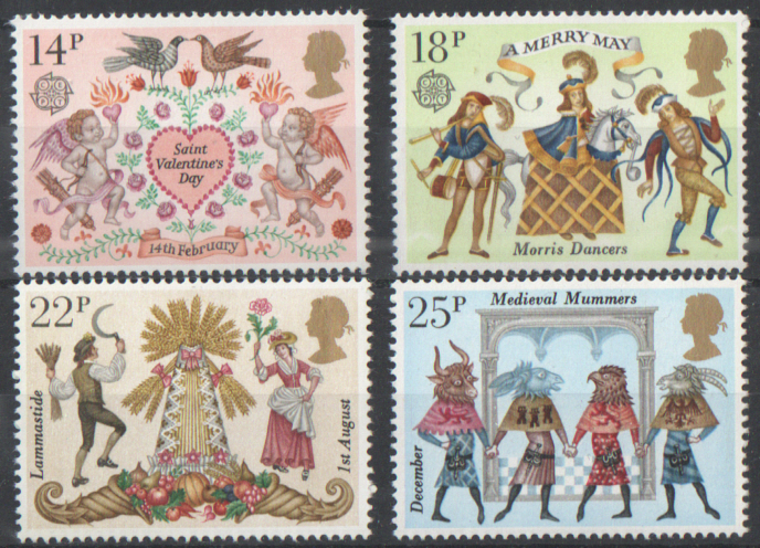 SG1143 / 46 1981 Folklore unmounted mint set of 4
