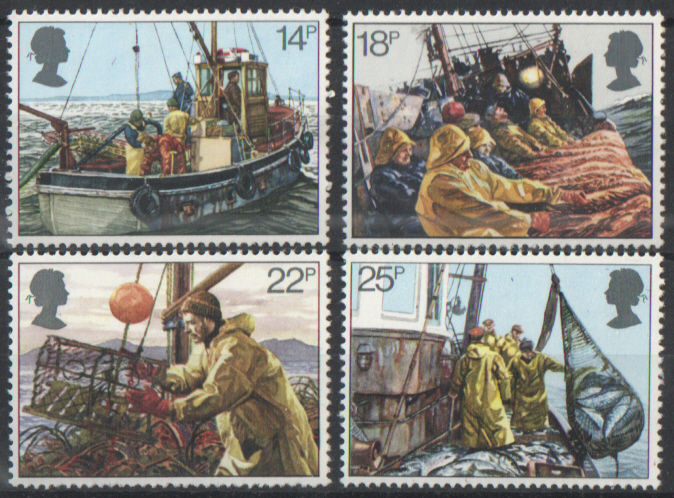 SG1166 / 69 1981 Fishing Industry unmounted mint set of 4