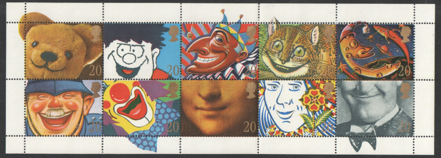 SG1483 / 92 1990 Greetings unmounted mint set of 10