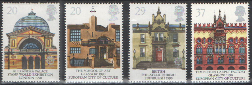 SG1493 / 96 1990 Europa unmounted mint set of 4