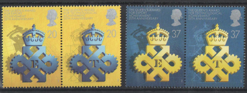 SG1497 / 00 1990 Queen's Awards unmounted mint set of 4