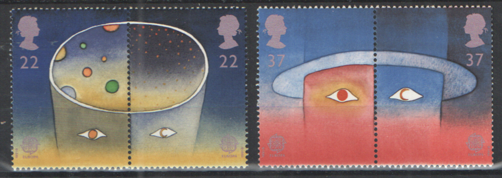SG1560 / 63 1991 Europe In Space unmounted mint set of 4