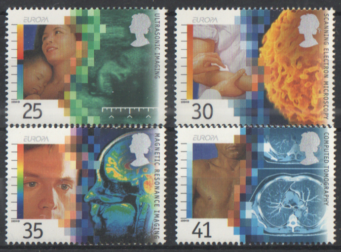 SG1839 / 42 1994 Medical Discoveries unmounted mint set of 4