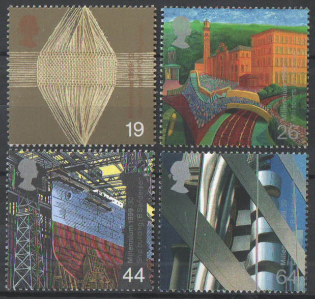 SG2088 / 91 1999 Workers' Tale unmounted mint set of 4