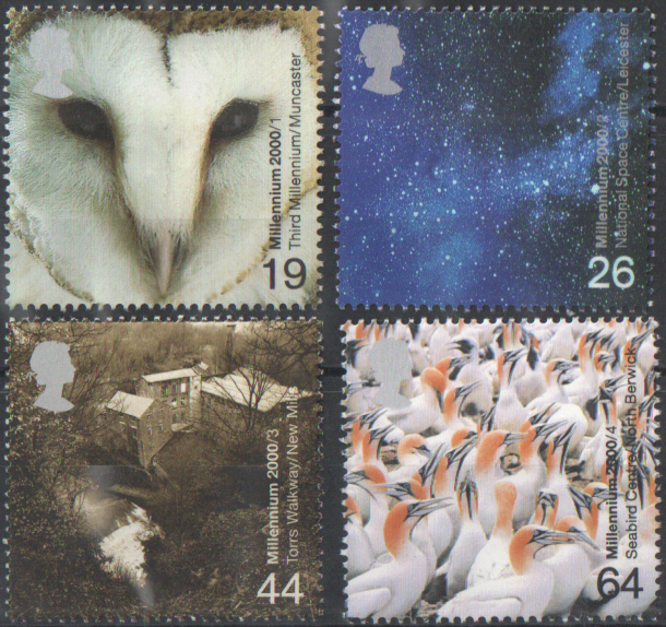 SG2125 / 28 2000 Above & Beyond unmounted mint set of 4