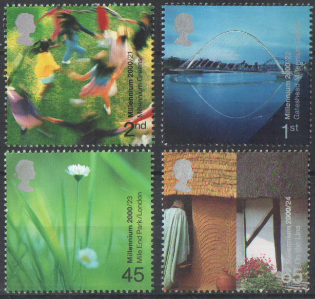 SG2148 / 51 2000 People & Places unmounted mint set of 4
