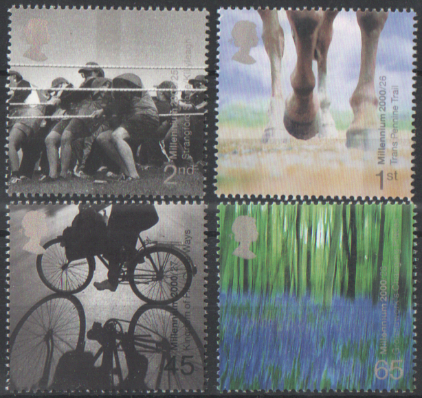 SG2152 / 55 2000 Stone & Soil unmounted mint set of 4
