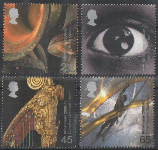 SG2174 / 77 2000 Sound & Vision unmounted mint set of 4