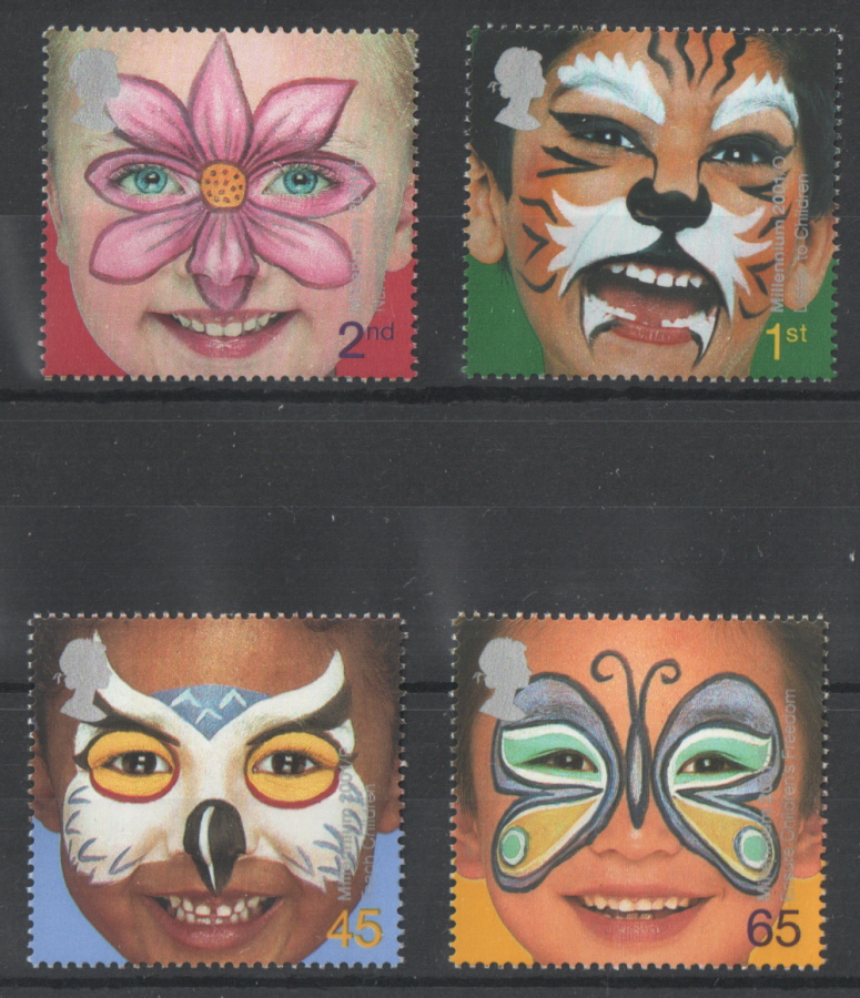 SG2178 / 81 2001 Rights Of The Child unmounted mint set of 4