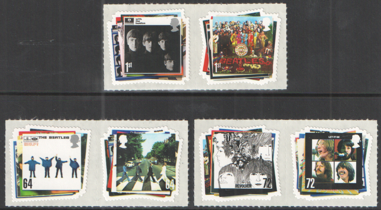 SG2686 / 91 2007 The Beatles unmounted mint set of 6